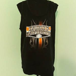 Harley Davidson cotton tank top